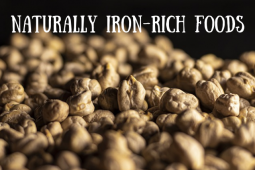 Naturally Iron Rich Foods