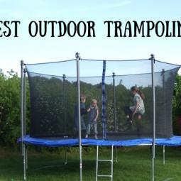 Best Outdoor Garden Trampoline